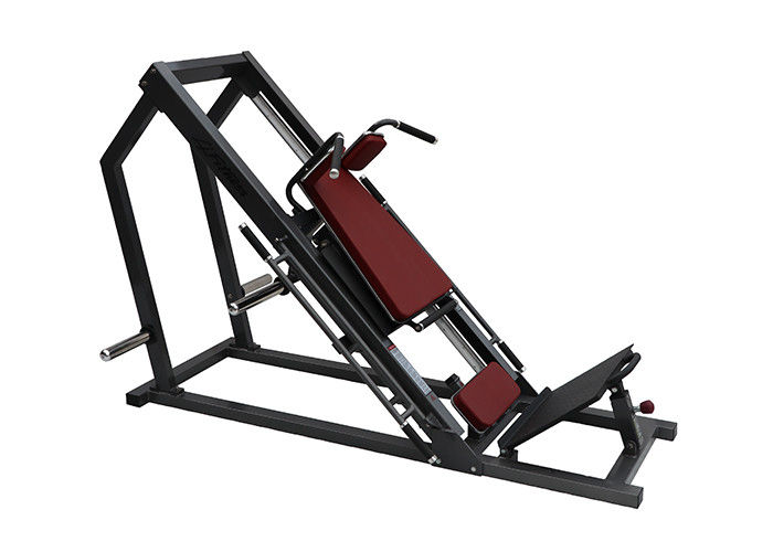 Dual - Use Hammer Strength Plate Loaded Hack Squat /  Leg Press Machine